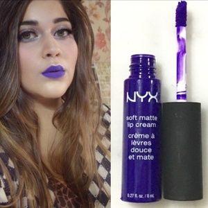 NYX soft matte lip cream in Havana